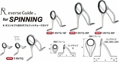 【楽天市場】【送料無料】(超特価)FUJI TORZITトーナメントミディアムライトRVスペック 7ガイドセット