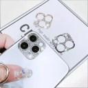 iPhone12 カメラレンズ 保護カバー キラキラ ライン ストーン iPhone 12 iPhone12Pro iPhone12……