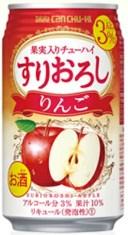 タカラcanチューハイ 「すりおろし」 〈りんご〉335ml 1ケース(24本入)タカラカンチューハイ