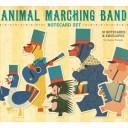 """クロニクル・ブックス(Chronicle Books) ジュンゾウ テラダ:メッセージカードセット""""Animal Marching Band"""" 861075"""