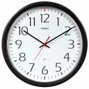 壁掛け時計 インテリア インテリア 海外モデル アメリカ 75503 Chaney Instruments Timex 46004T Set and Forget Wall Clock, 14-Inch..