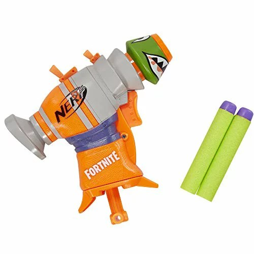 ナーフ FORTNITE アメリカ 直輸入 ダーツ 【送料無料】NERF Fortnite RL MicroShots Dart-Firing Toy Blaster and 2 Official Elite Dartsナーフ FORTNITE アメリカ 直輸入 ダーツ