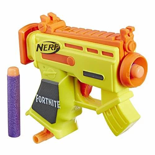 ナーフ FORTNITE アメリカ 直輸入 ダーツ 【送料無料】NERF Fortnite Micro AR-L Microshots Dart-Firing Toy Blaster & 2 Official Elite Darts for Kids, Teens, Adultsナーフ FORTNITE アメリカ 直輸入 ダーツ