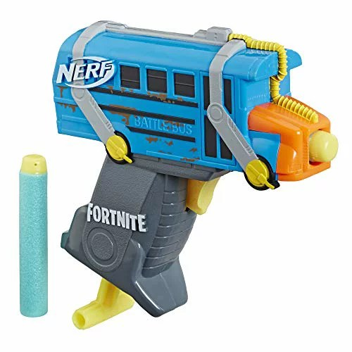 ナーフ FORTNITE アメリカ 直輸入 ダーツ 【送料無料】Fortnite Micro Battle Bus Nerf Microshots Dart-Firing Toy Blaster & 2 Official Elite Darts for Kids, Teens, Adultsナーフ FORTNITE アメリカ 直輸入 ダーツ
