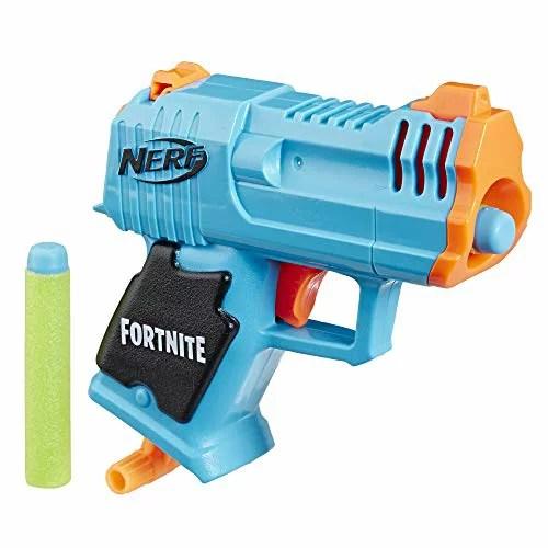 ナーフ FORTNITE アメリカ 直輸入 ダーツ 【送料無料】NERF Fortnite Micro HC-R Microshots Dart-Firing Toy Blaster & 2 Official Elite Darts for Kids, Teens, Adultsナーフ FORTNITE アメリカ 直輸入 ダーツ