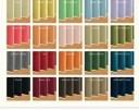 遮光カーテン【MINE】アイボリー 幅150cm×2枚/丈135cm 20色×54サイズから選べる防炎・1級遮光カーテン【MINE】マイン【代引不可】