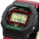 送料無料 新品 腕時計 CASIO カシオ G-SHOCK 海外モデル Throwback 1990s クリスマスカラー メンズ DW-5600THC-1 [並行輸入品]
