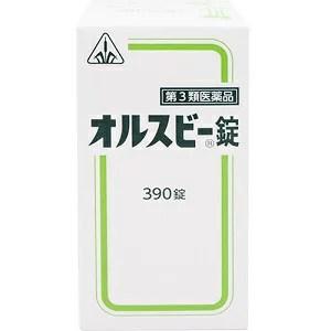 【第3類医薬品】ホノミ漢方 オルスビー錠 390錠【コンビニ
