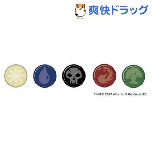 マジック・ザ・ギャザリング マナモチーフ柄 缶バッジ 5種セット(1セット)