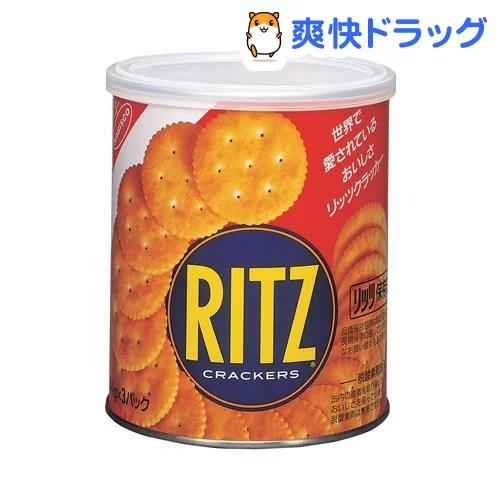 「【訳あり】リッツ保存缶S(44g*3パック)【リッツ】[お菓子 防災グッズ 非常食]」を楽天で購入