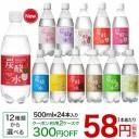 国産 天然水仕込みの炭酸水(500mL*24本入)【送料無料