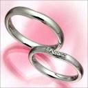 結婚指輪 マリッジリング プラチナ 2本セット 送料無料 ペアリング カップル ペア カットリング 指輪 地金リング レディース リング プ..