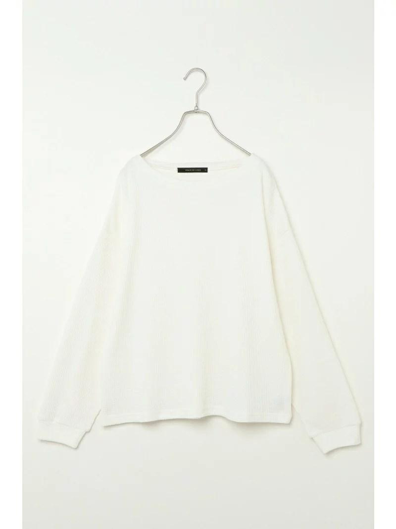 VENCE share style ワッフルロングTシャツ ヴァンス エクスチェンジ その他 福袋 ホワイト