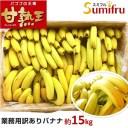 バナナ 業務用 約85本 甘熟王 訳あり 高地栽培 大量 15kg フィリピン産 sumifru スミフル 学園祭 スポーツ 送料無料 ばなな わけあり バナナジュースにおすすめ 【他の商品との同時購入不可】