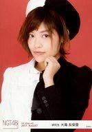 【中古】生写真(AKB48・SKE48)/アイドル/NGT48 大滝友梨亜/上半身・左手顎/NGT48 劇場トレーディング生写真セット2017.August net shop限定Ver.