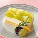 味の素)フリーカットケーキ 洋梨とぶどう 515g(冷凍食品 洋梨ムース ケーキ デザート フルーツ 洋ナシ ブドウ 葡萄)