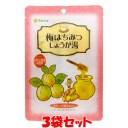 生姜湯 マルシマ 梅はちみつしょうが湯 48g(12g×4包)×3袋セットゆうパケット送料無料 ※代引・包装不可