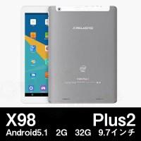 【全品ポイント5倍!!】(9.7インチ9.7型)Teclast X98 Plus2 Android5.1 32GB 2GRAM Z8300 BT搭載(タブレット PC 本体)【2016年12月3日19:00〜8日1:59迄】05P03Dec16