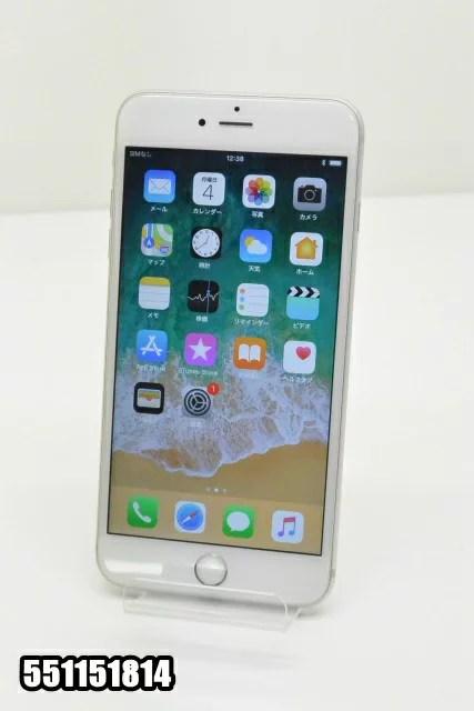白ロム au Apple iPhone6s Plus 16GB iOS11.0.2 シルバー MKU22J/A 初期化済 【551151814】 【中古】【K20171206】