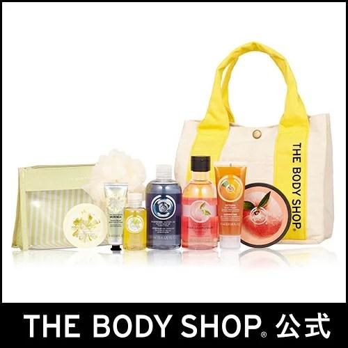 【正規品】<福袋>【数量限定】サマースペシャルキット 第2弾(ブルーベリー) 【THE BODY SHOP(ザ・ボディショップ)】summer special kit (blueberry)