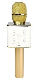 【新品】Bluetooth接続可能スピーカー付きワイヤレスカラオケマイクQ7 Wireless Microphone& HIFI Speaker