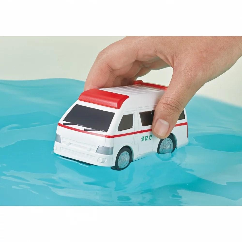 スイリク 水陸両用カー 救急車