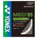 【YONEX】ヨネックス NBG99-011 ナノジー99 [ホワイト][バドミントン/ガット]年度:14【RCP】