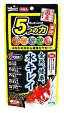 キョーリン ひかり きんぎょのえさ 5つの力 増体 (70g) 金魚 エサ