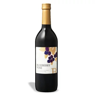 巨峰ワイナリー ブルーベリーワイン(甘口) 720ml 《あす楽》