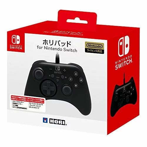 【Nintendo Switch対応】ホリパッド for Nintendo Switch[un]