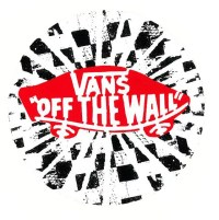 VANS OFF THE WALL CIRCLE STICKER!UNSTEADY