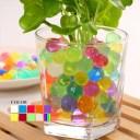 ジェリーボール 単品 ぷよぷよ アクアジェリーボール マジック クリスタルボール 水で膨らむ ビーズ ハイドロカルチャー 観葉植物 DIY ガーデニング インテリア 雑貨