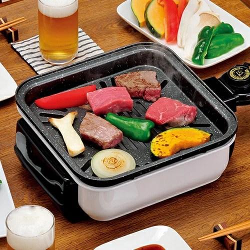 ちょこちょこ焼き - コンロ 電熱コンロ 卓上コンロ 料理 キッチン 台所 バーベキュー BBQ 鉄板焼き 焼肉 小型