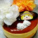 <お祝い用>[フラワーイタリアンチーズケーキ]お子様が大好きなイチゴお誕生日のお祝いに!お好みのデコレーション果物を飾っても良い..