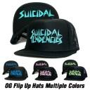 【あす楽】【正規品】スイサイダルテンデンシーズ フリップ メッシュ キャップ 【4カラー】SUICIDAL TENDENCIES OG Flip Up Hats Multi..