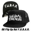 【あす楽】【正規品】スイサイダルテンデンシーズ フリップ メッシュ キャップ【ブラック】SUICIDAL TENDENCIES OG Flip Up Mesh Hat F..