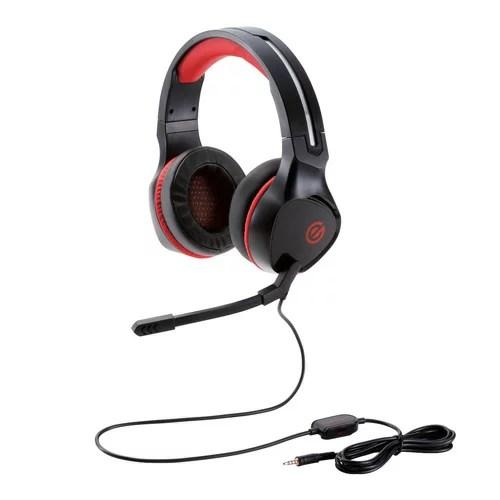 エレコム ELECOM ゲーミングヘッドセット 両耳オーバーヘッド コントローラ付属 ブラック HS-G01BK