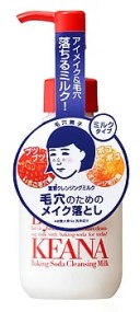 石澤研究所 毛穴撫子 重曹クレンジングミルク (150mL) メイク落とし 黒ずみ毛穴