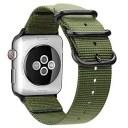 AIGENIU コンパチブル Apple Watch バンド、防水性と耐久性のある編みナイロン バンド Compatible forアップルウォッチ バンド 38mm 40..