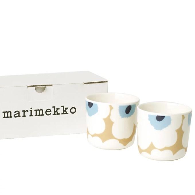 マリメッコ MARIMEKKO マグカップ ラテマグ 67849 815 UNIKKO ウニッコ 200ml 2個セット 【hkc】