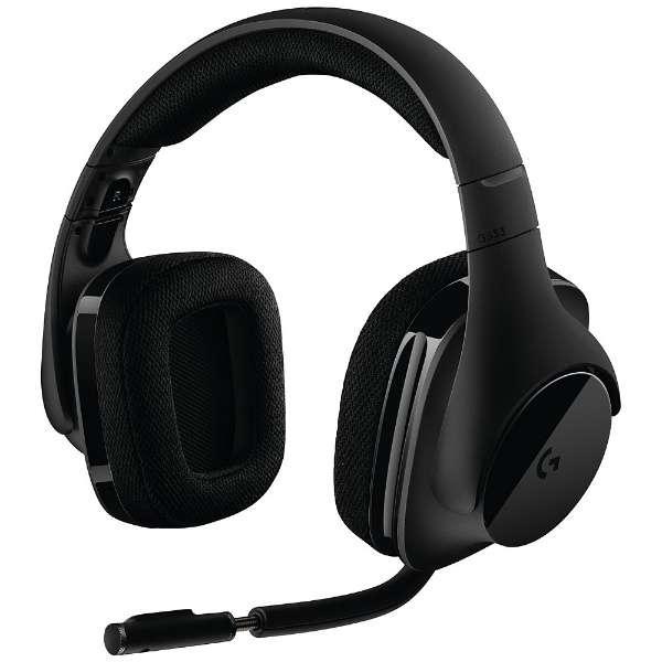ロジクール G533 ワイヤレス DTS 7.1 サラウンド ゲーミング ヘッドセット ブラック