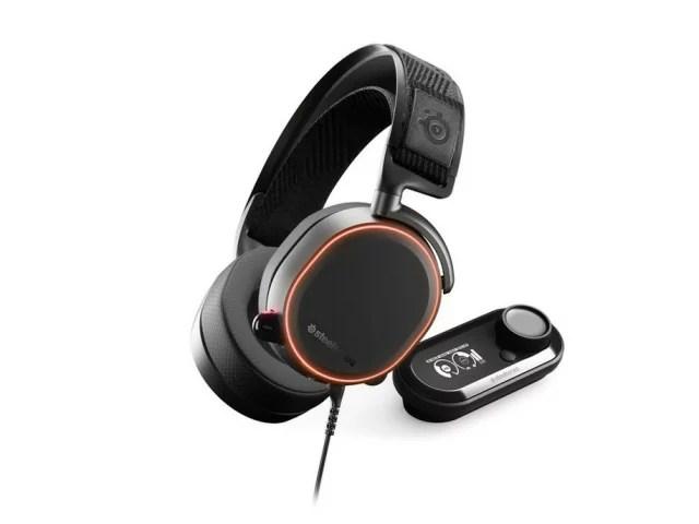 【ポイント5倍】steelseries ヘッドセット SteelSeries Arctis Pro + GameDAC [ヘッドホンタイプ:オーバーヘッド プラグ形状:USB/ミニプラグ 片耳用/両耳用:両耳用] 【楽天】 【人気】 【売れ筋】【価格】