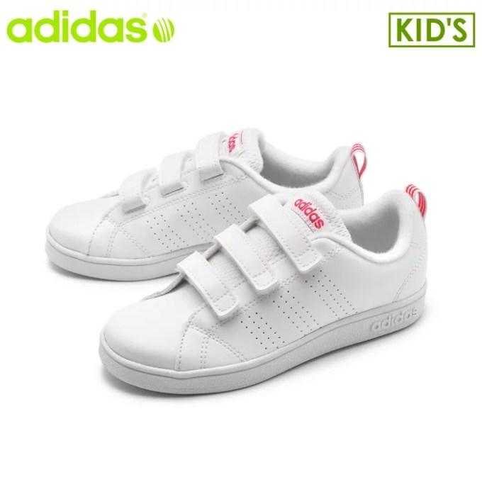 アディダス adidas スニーカー バルクリーン2 CMF K ランニングホワイトVALCLEAN