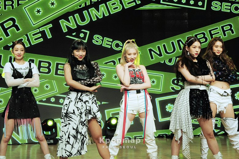 SECRET NUMBER Reveals First Single. 'Who Dis?' During Debut Showcase   Kpopmap