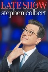 Key visual ofThe Late Show with Stephen Colbert