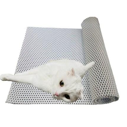 제일매트 고양이 사막화방지 화장실 모래 벌집 매트, 베이지