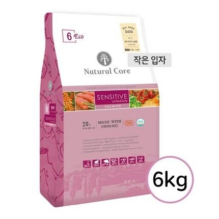 네츄럴코어 에코6연어작은알(육포+치실껌+져키증정)6kg, 6kg, 연어