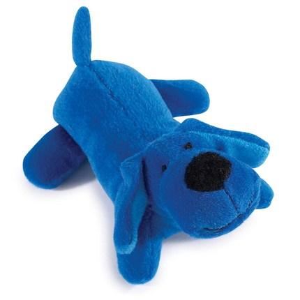 재니스 네온 빅 옐프 애견 봉제장난감, Bright Blue, 1개
