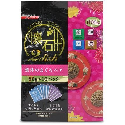 카이세키 투디시 글로벌 야이즈노 마구로 80g 1팩 10개입(참치와김5 +참치와 게맛살5), 1세트