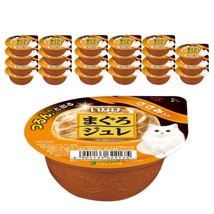 이나바 마구로쥬레 고양이간식 IMC168, 닭가슴살, 24개
